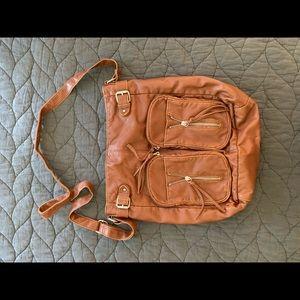 Faux-Leather Purse